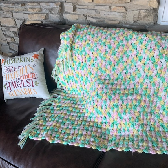 Other - Blanket Throw Afghan 36x36